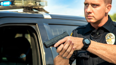 Glock decided to unveil its G45 duty pistol at this year's IACP. And the pistol was one of the...