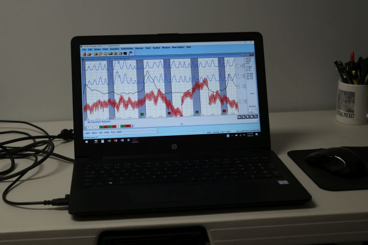"""The """"polygraph machine does not detect lies."""" That responsibility falls to the qualified polygraph examiner, not a machine or instrument.  - Photo: Vollmer Institute"""