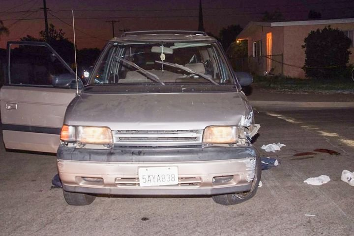 Sgt. Daron Wyatt and Officer Matt Ellis were patrolling the streets of Anaheim, CA, when they decided to stop this minivan. Before the night was over the driver was dead and Wyatt was badly hurt.