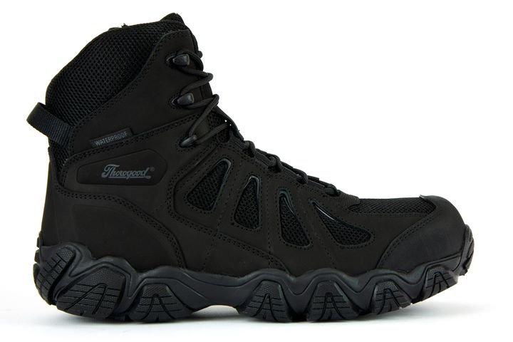 "Thorogood Crosstrex Side Zip BBP Waterproof 6"" Hiker - Photo: Thorogood"