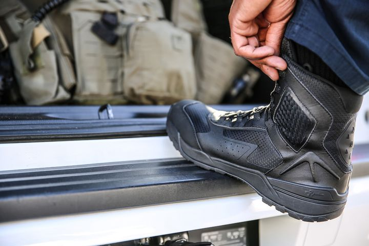 """Tactical Research 7"""" Ultralight Tactical Side-Zip Boot - Photo: Tactical Research"""