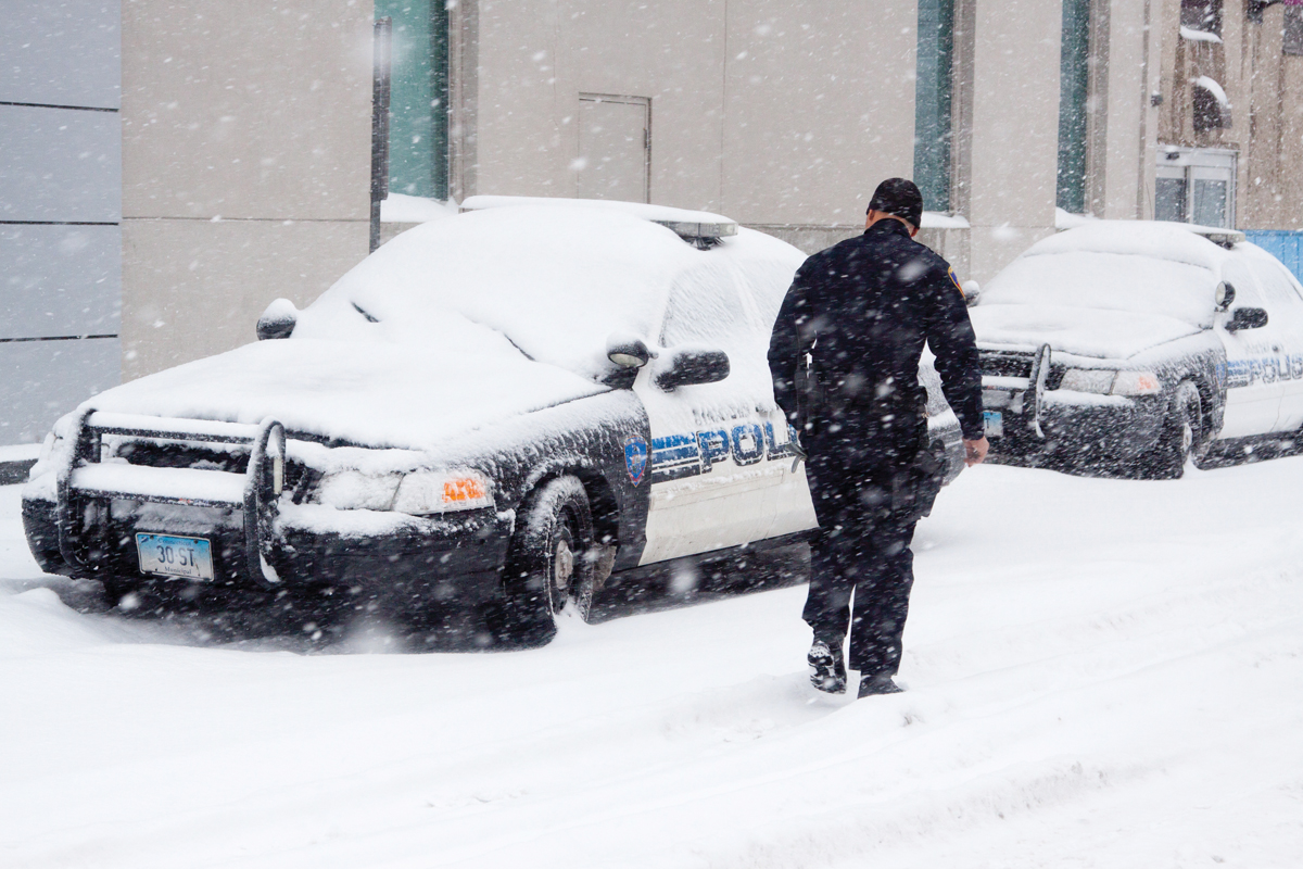 Policing When It's Freezing