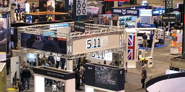 Overview of IACP 2019 show floor.