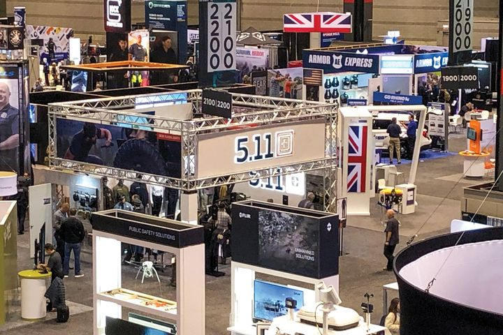 Overview of IACP 2019 show floor.  -