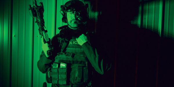 FLIR night vision systems on a tactical operation.
