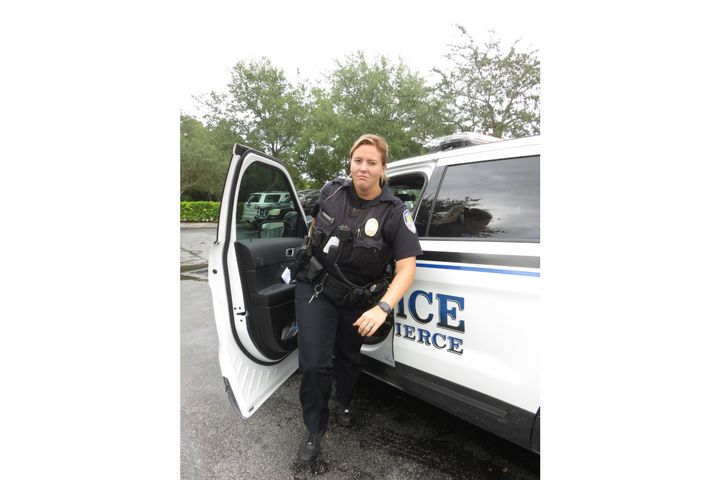 A Fort Pierce, FL, police officer wears Thorogood boots on patrol during the wear-test. - Photo: Thorogood