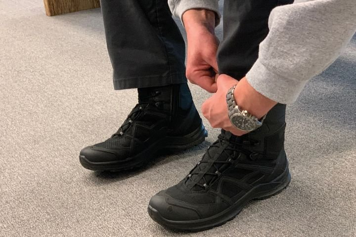 Haix sent out 1,000 pairs of Black Eagle Side Zip boots to law enforcement officers for a massive wear-test. - (Photo: Haix)