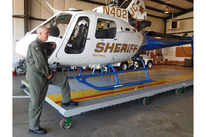 The Jefferson County (AL) Sheriff's aviation unit participated in the wear-test.  - Photo: Thorogood