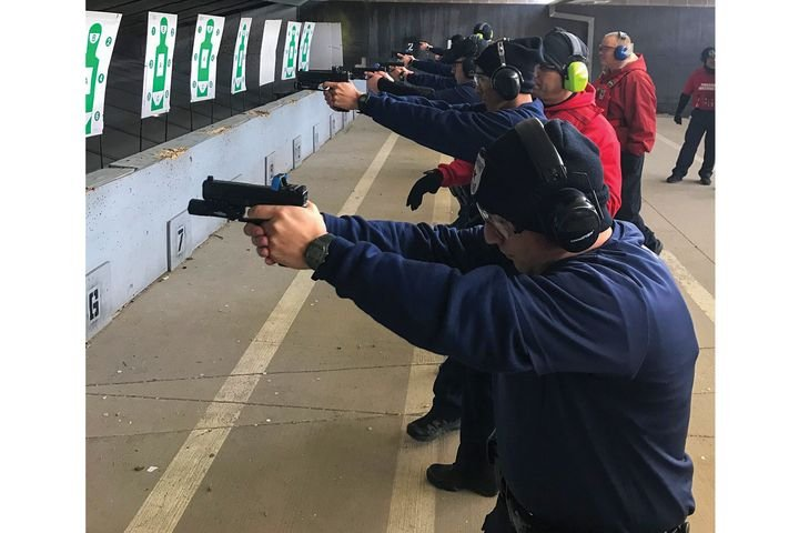 The Houston Police Department training staff developed its red dot program over several years of experimenting with the concepts and working with experienced red dot optic instructors. - Photo: Houston (TX) Police Department