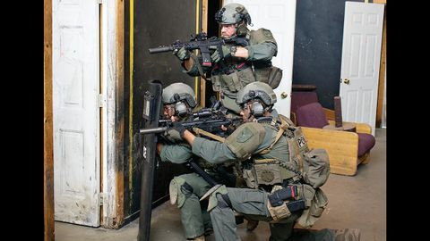 Patrol officers don't have all the equipment and training of tactical units, but they can learn...