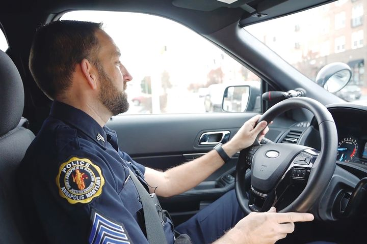The Annapolis Police Department is replacing its in-car computers with cloud computing solutions from FirstNet and Amazon Web Services. - Photo: FirstNet