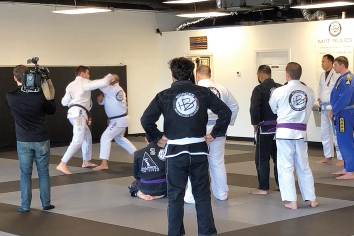 Teaching Control Tactics with Jiu Jitsu