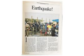 Looking Back: Less-Lethal, Qualification Courses, and Earthquakes