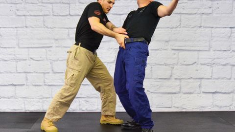 Police Krav Maga (Police KM) can be used for overall DT as well as to disarm a subject reaching...