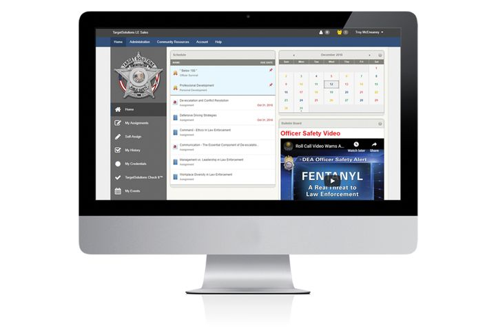 TargetSolutions is a multi-faceted training and management tool that can be accessed on any web-capable device. Its capabilities can be further expanded with the optional TargetSolutions Scheduling and TargetSolutions Check It. - Photo: Vector Solutions