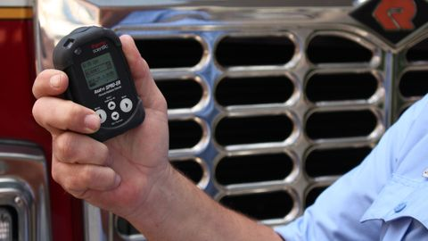 Thermo Fisher Scientific's SPRD-ER Personal Radiation Detector can alert law enforcement...