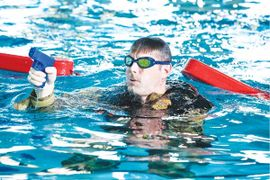 Training Profile: Going into the Water