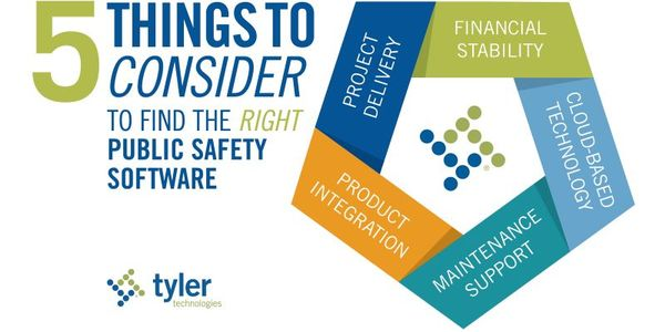 5 Things to Consider to Find the Right Public Safety Software