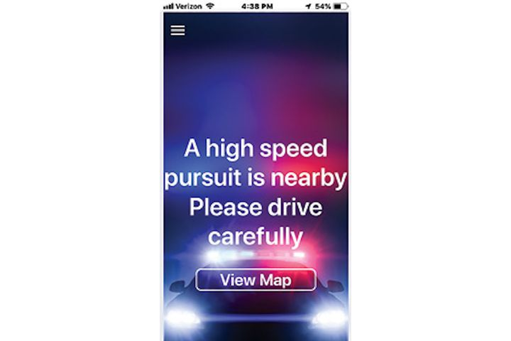 PursuitAlert is a two-part system. Officers can trigger an alert via a center console control panel or a laptop solution. Motorists receive the alert on a free phone app. (Photo: PursuitAlert) -