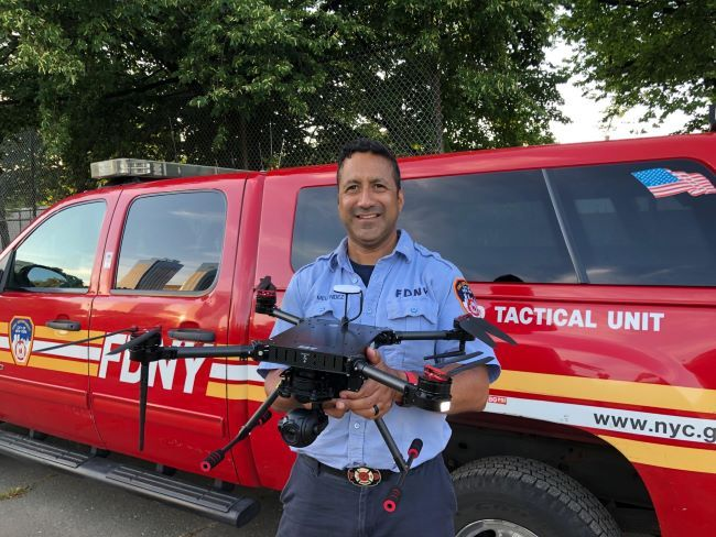 Lt. David Melendez New York Fire Department (FDNY) -