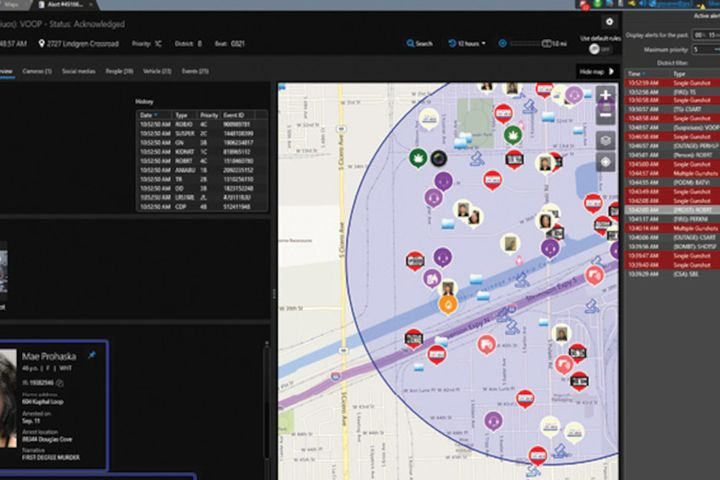 Citigraf collects and manages information from numerous sources, including computer-aided dispatch systems, license plate recognition systems, gunshot detection systems, record management software, and CCTV security video. -