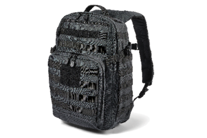 5.11's new Rush 2.0 backpack features a concealed carry compartment and a padded laptop compartment. -