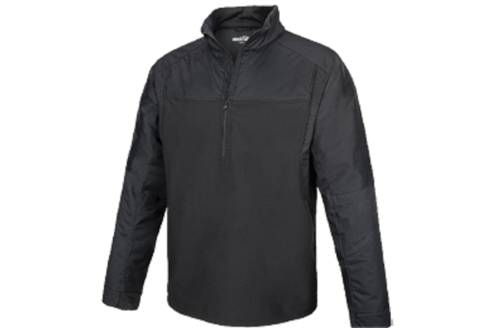 The waterproof and windproof DutyGuard HT+ Pullover from Flying Cross is designed to be worn under external vest carriers to keep officers comfortable in harsh weather. -