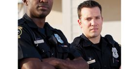 Carrying the Heavy Load of Police Duty During Stressful Times