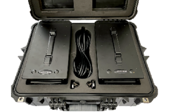 The gunShot Box comes in a rugged plastic box with two units ready to go. All you have to do is plug it in and turn it on. -