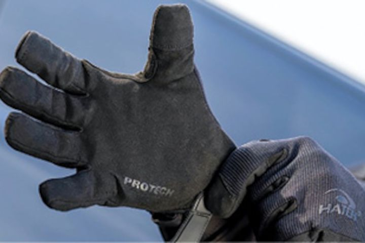 Hatch's FMN500-Friskmaster Max gloves are tested to ANSI Cut Resistance A9 and Level 5 ANSI needlestick puncture resistance. -