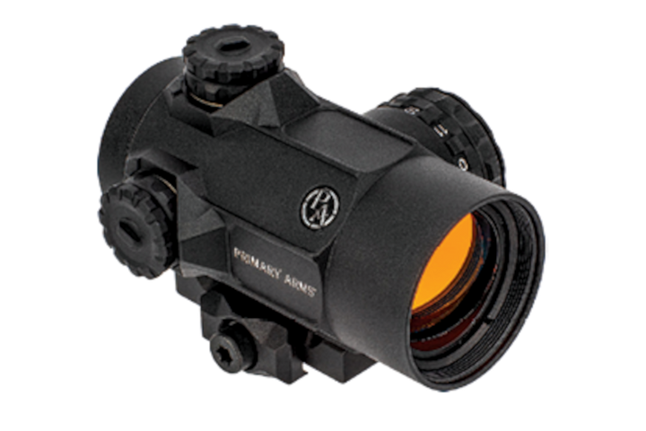 Primary Arms' SLx MD-25 offers 25 millimeters of clear aperture and customers can choose a 2 MOA dot or an advanced ACSS reticle. -