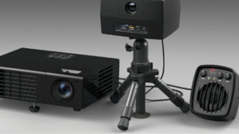 Designed to have a very small footprint, DART Range consists of a projector and a control box....