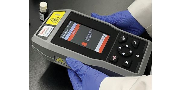 The Thermo Fisher Scientific 1064Defender uses a 1064-nanometer laser to analyze hazardous...