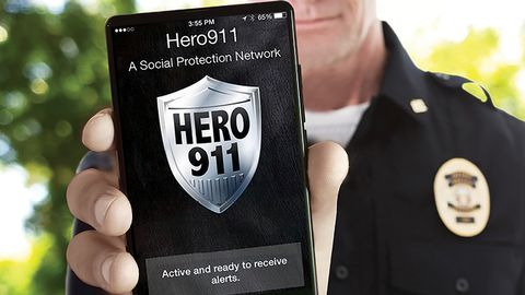 Hero911 from Guard911 was developed by law enforcement for use by law enforcement. The app...