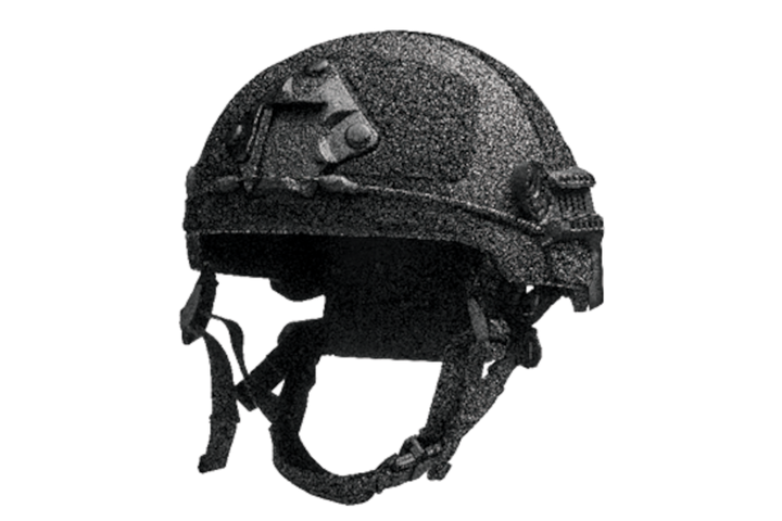 Point Blank is now selling two different models of helmets from Ulbrichts Protection, including the first responder (pictured). -