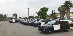 San Diego Police to Patrol in Ford Hybrid SUVs