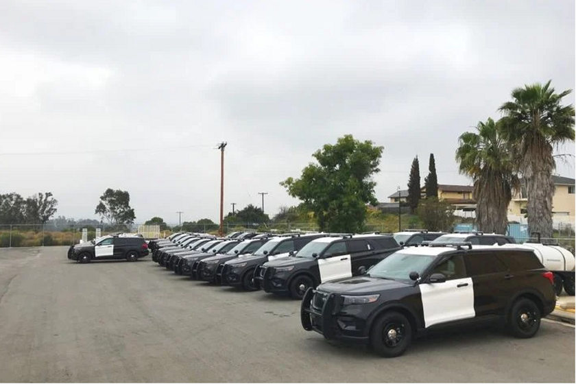 The City of San Diego has already taken delivery of 40 of its first 100 Ford PIU hybrids (Photo:...