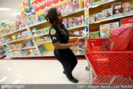 Shop with a Cop and COVID