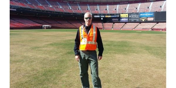 The author at Candlestick Stadium during an Urban Shield exercise.