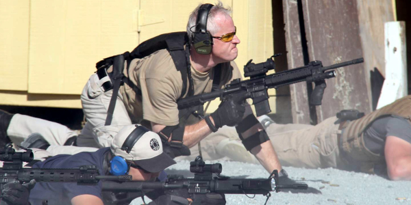 POLICE Magazine Contributing Web Editor participates in law enforcement patrol rifle training in...