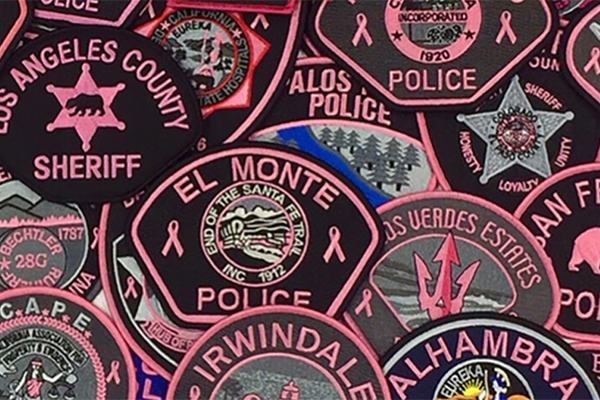The Pink Patch Program—a public awareness campaign designed to bring attention to the fight against breast cancer and to support breast cancer research organizations in combating this devastating disease—has raised more than $1M for cancer research and treatment.  - Image courtesy of City of Hope.