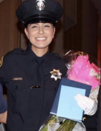 "Chief Darren Pytel said that police work was ""truly in her blood,"" adding that he had placed a bet that one day she'd be the police chief.  - Photo: Davis (CA) PD"