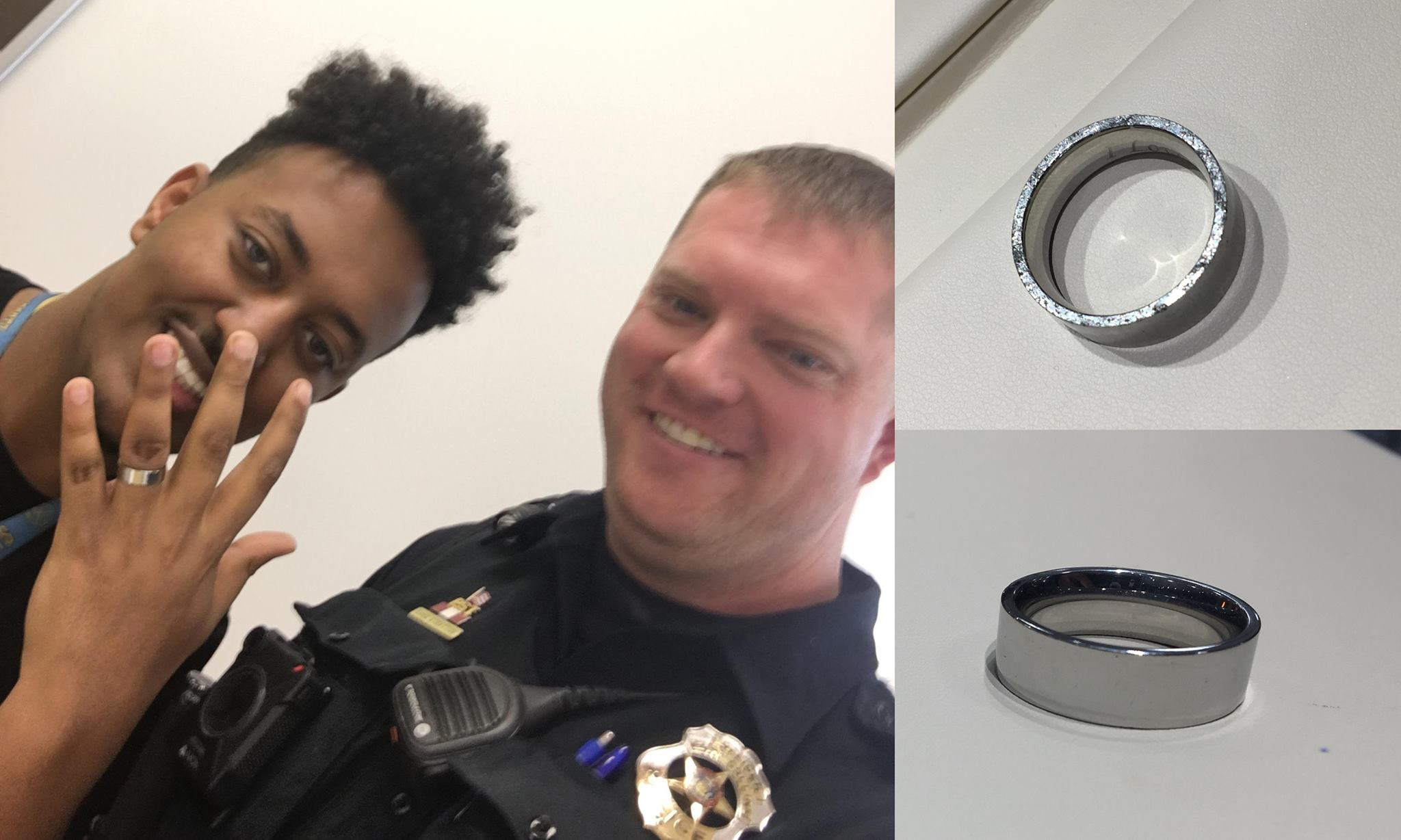 Colorado Officer Finds Wedding Ring, Uses Investigative Skills to Find Owner