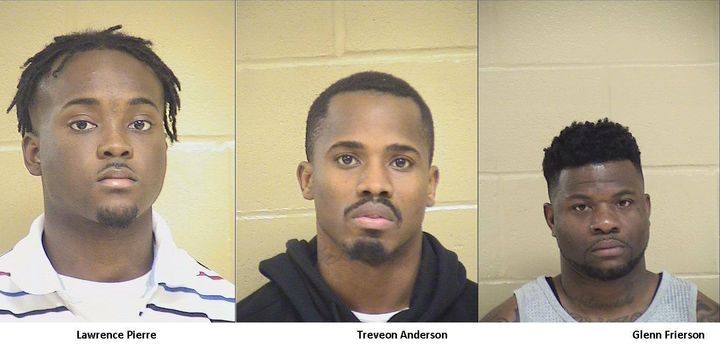 According to a statement posted to the Shreveport Police Department Facebook page, 38-year-old Glenn Frierson, 26-year-old Trevon Anderson, and 22-year-old Lawrence Pierre now face charges of second degree murder.