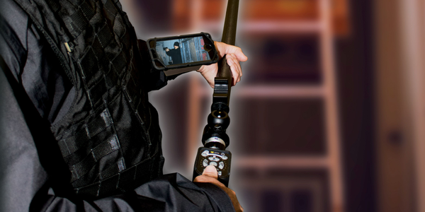 The new system design of the ZistosHD Tactical Pole Camera System utilizes interchangeable...