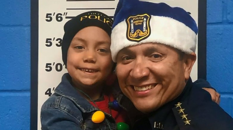 6-Year-Old Texas Girl Terminally Ill with Cancer Sworn in as Honorary Officer
