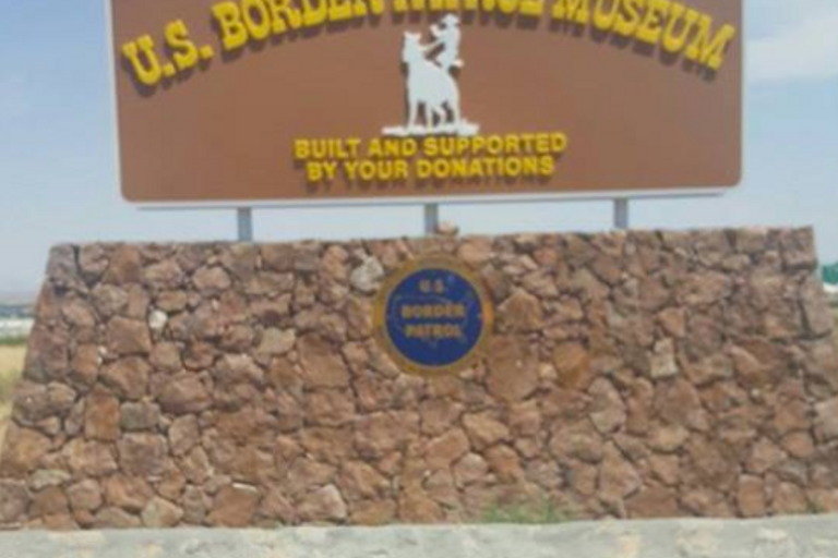 Dozens of demonstrators stormed into the National Border Patrol Museum outside of El Paso,...