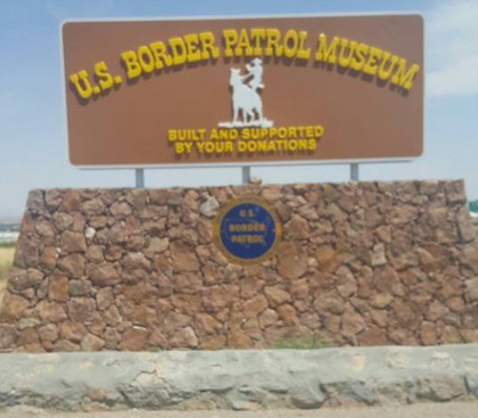 Dozens of demonstrators stormed into the National Border Patrol Museum outside of El Paso, Texas, reportedly defacing the memorial in that facility dedicated to fallen Border Patrol Officers.  - Image courtesy ofthe National Border Patrol Museum / Facebook.