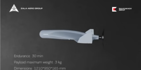 Russia's Kalashnikov Making Small, Cheap Explosive Drone