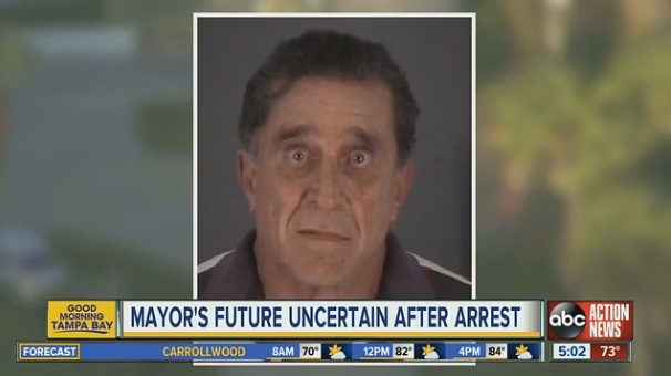 Port Richey, FL, Mayor Dale Massad is charged with attempted murder after shooting at a Pasco County SWAT team Thursday morning. (Photo: WPTV Screen Shot)